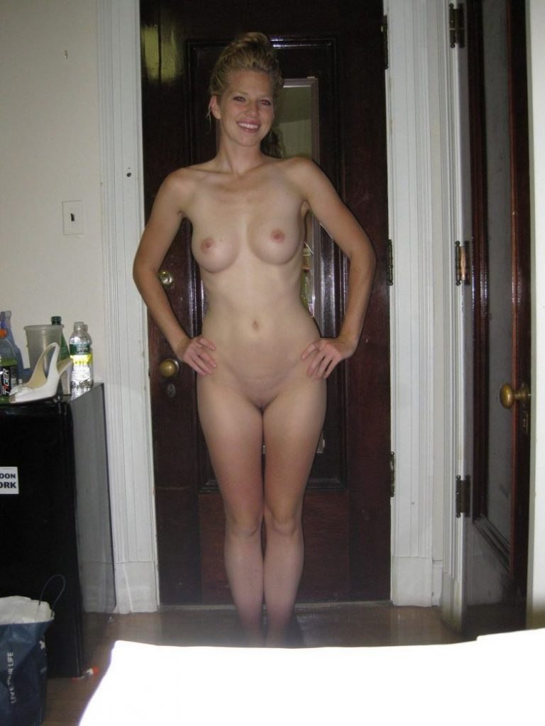 Hot Blonde Nudist Babe