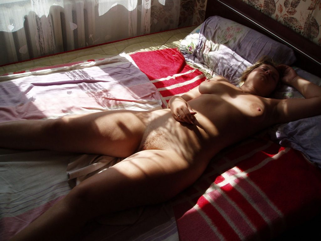 Sleeping Girl Nude