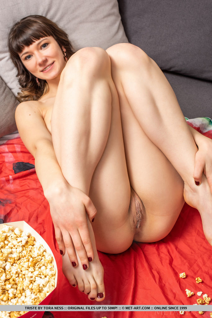 Sexy Brunette Triste Gets Naked For You