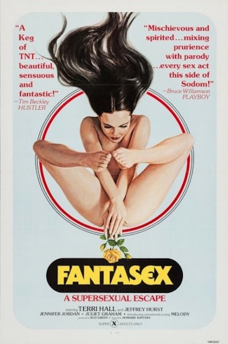 Vintage X-Rated Movie Poster