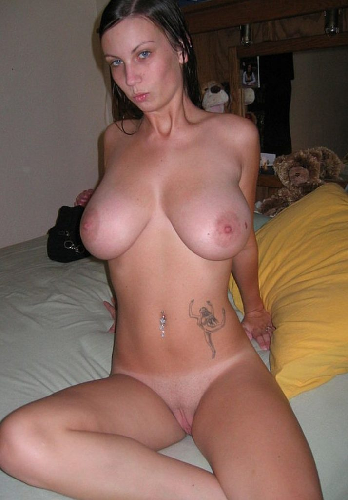Tattooed Nudist Babe