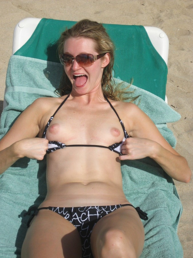 Boob Flashing