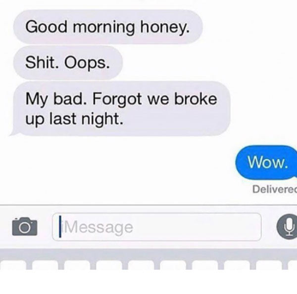 Bad Day Be Like