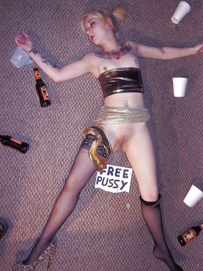 Drunk Naked Girls