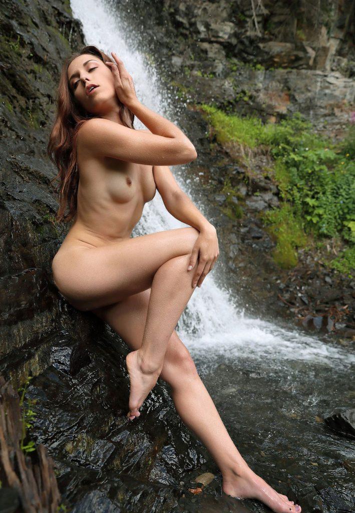 Naked Girls At Waterfall