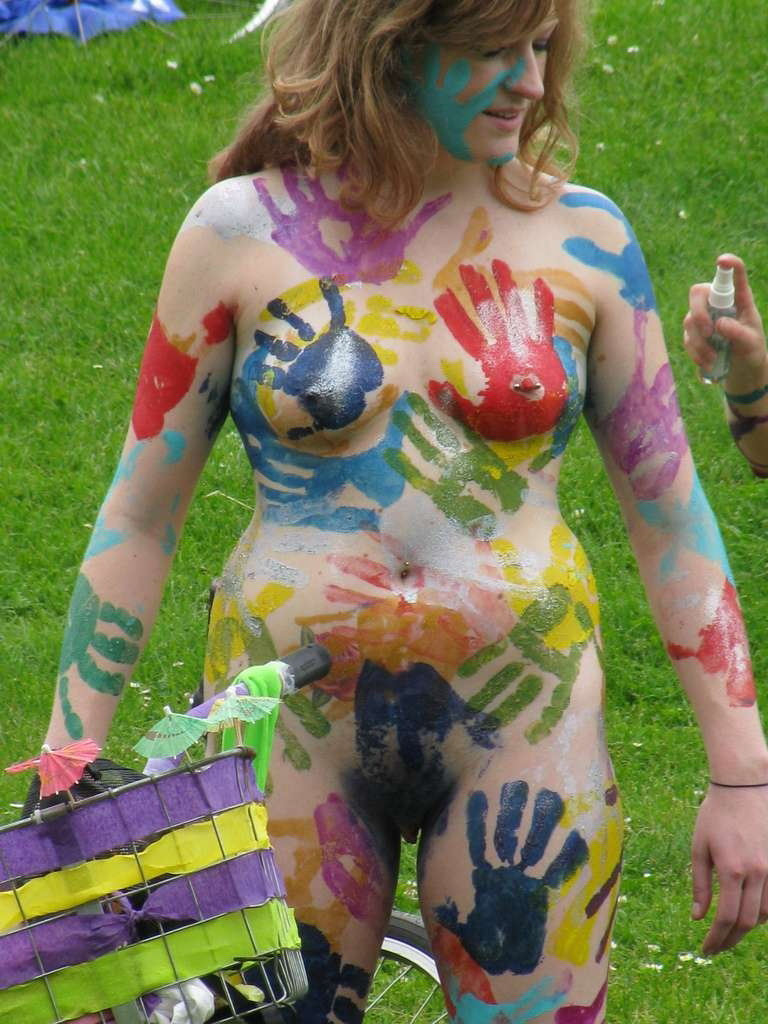 Body Painted Girls Nude