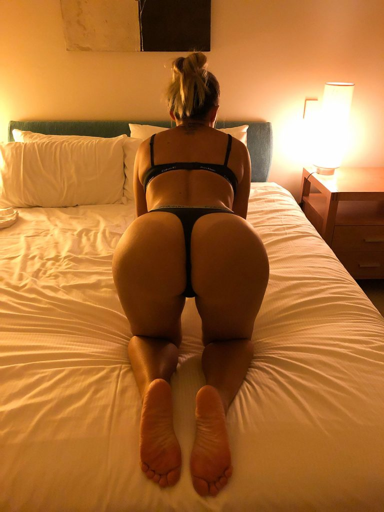 Ass In Thong Porn Picture