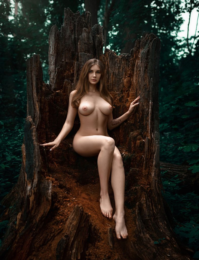 Nude In Nature