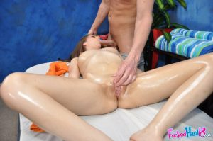 18 year old with an ass to die for gets rubbed down and fucked by a masseur