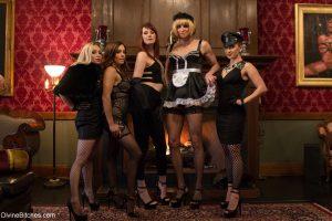 Divine Bitches Aiden Starr, Alex Adams, Francesca Le, Jason Miller, Lea Lexis, Maitresse Madeline Marlowe, Sean Spurt