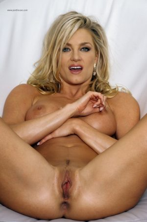 Blonde centerfold Tanya Taylor bends over for hot anal fingering & toys pussy