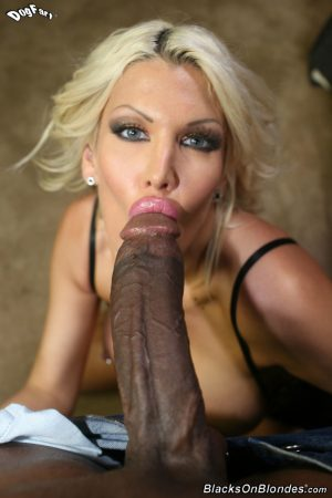 Busty blonde cougar Michelle Mclaren is totally satisfied after banging a BBC