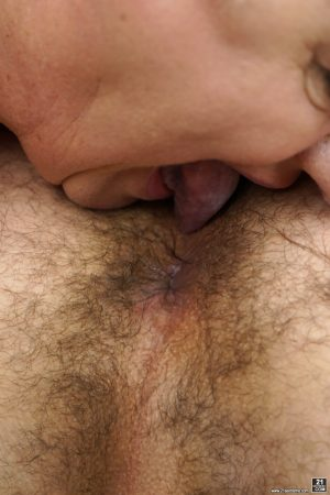 Sweet granny with short hair Astrid takes a stiff rod in her juicy cunt