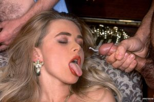 That 70s chick Alice has the guys lined up to gangbang her slutty holes