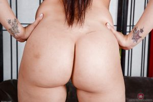 Thick Latina babe Sheena Ryder spreading hairy MILF pussy in knee socks