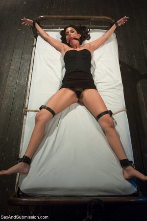 Female sex slaves are forced into lesbian sex by a perverted man