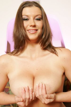 Beautiful Sara, Stone reveals her big beasts and gives her guy a hot titjob