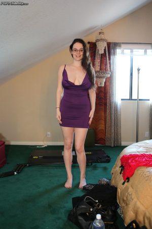 Curvy cutie Tessa Lane flaunts her hot pornstar body & big natural tits