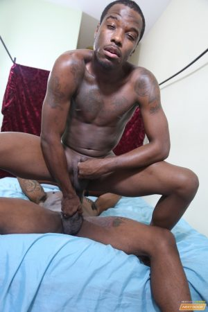 Kinky black gays Rio and Aston lick and fuck each other's asshole