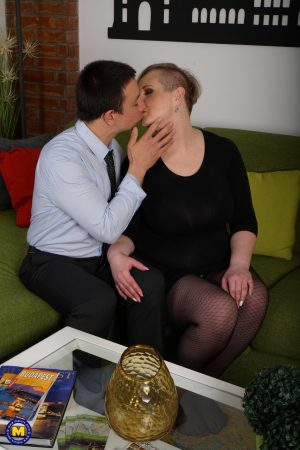 Thick lady Silana getting her fat pussy and boobs nailed by her young lover