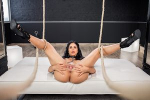 Busty Spanish vixen Julia De Lucia gets her mouth and ass destroyed by a cock