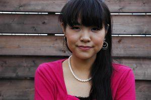 Asian teen Nao Kodaka undressing and spreading her pussy lips