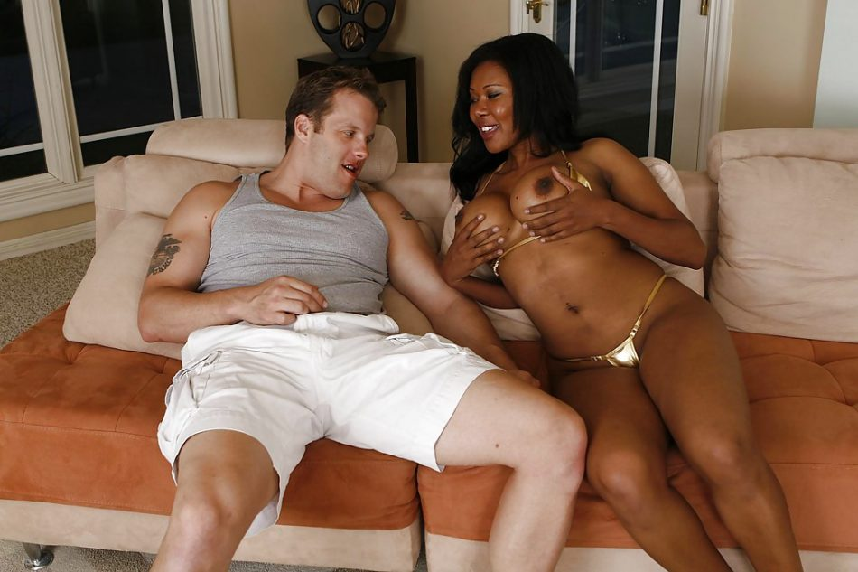 Jessica Dawn blows and fucks a white boner for a cumshot on her eager face