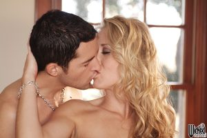 Slutty MILF Alana Evans welcomes a stiff dick into her tight butthole