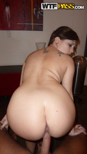 Brunette first timer with a pierced tongue makes a homemade POV sextape