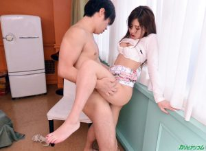 Japanese doll Mai Kamio squirts during fingering after hardcore sex & creampie