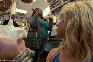 Blonde Amy Brooke eating jizz during an interracial double penetration 3some