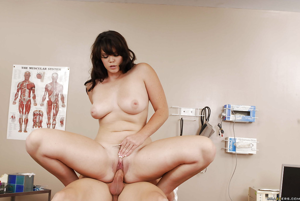 MILF babe in uniform Alison Tyler gets naked for a hardcore fuck