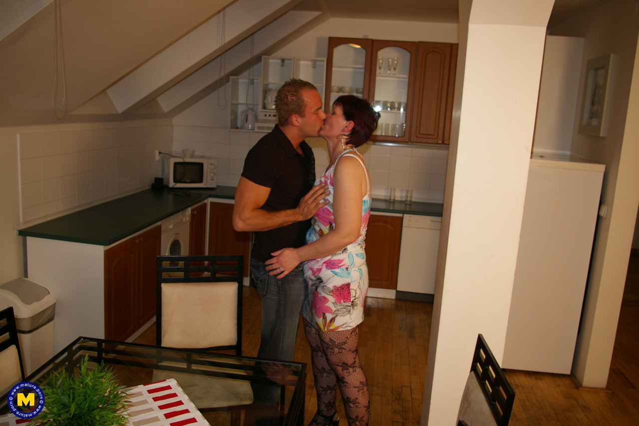 Mature housewife Gabie getting the fuck of a lifetime from her young BF