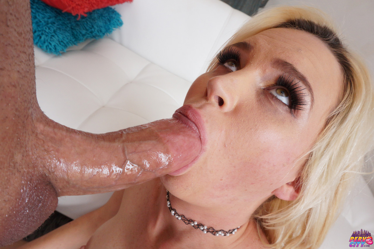 Blonde American Astrid Star has hot anal sex with a big dick after sucking it